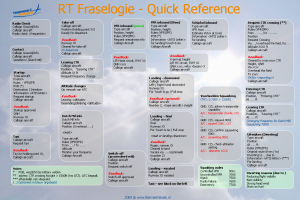 RT quick reference - Page 1